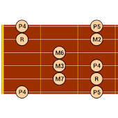 DG Guitar Scales