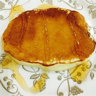 Pineapple Orange Pancakes.