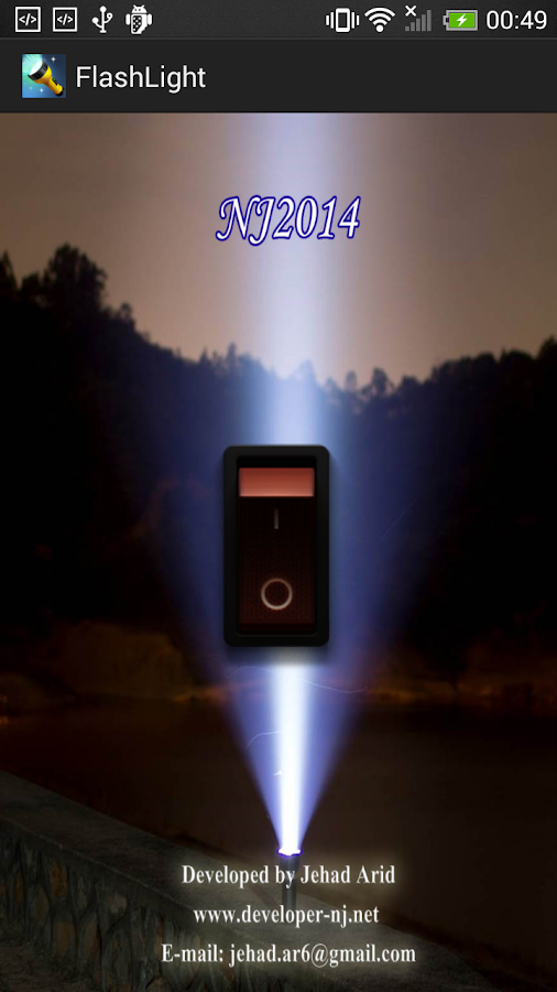 Torch - Flashlight LED 2014 - screenshot