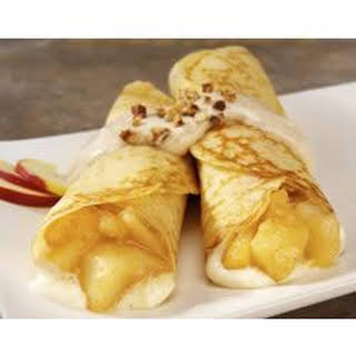Apple Crepes.