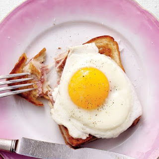 Croque Madame Sandwiches.