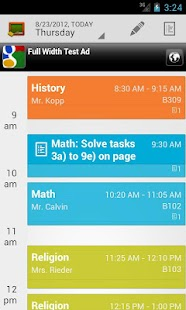 My Class Schedule: Timetable - screenshot thumbnail