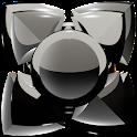 Next Launcher Theme black icon
