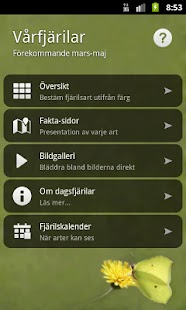 Vårfjärilar - screenshot thumbnail
