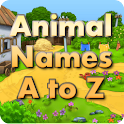 Animal Flash Cards A to Z logo