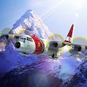 Airplane Mount Everest icon