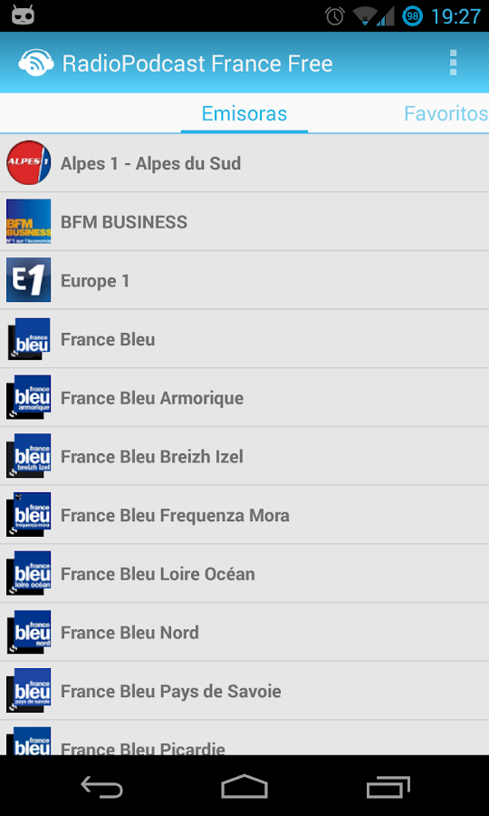 RadioPodcast France Free - screenshot