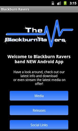 Blackburn Ravers Media App