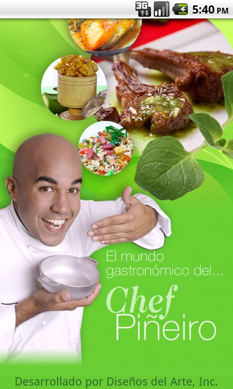 Chef Pineiro - screenshot