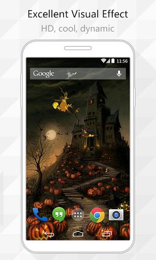 Halloween Castle LiveWallpaper