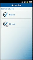 Screenshot of DIGIPASS Mobile Enterprise Sec