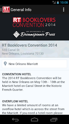 RT Booklovers Convention 2014