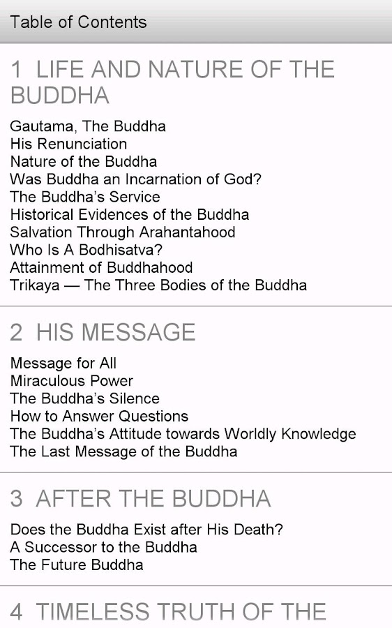 What Buddhists Believe- screenshot