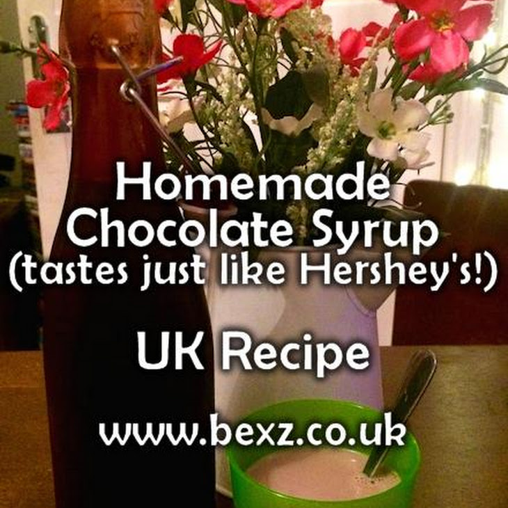 Chocolate Syrup UK Recipe – UK Hershey'S Clone – Chocolate Milk (Milkshake) Recipe