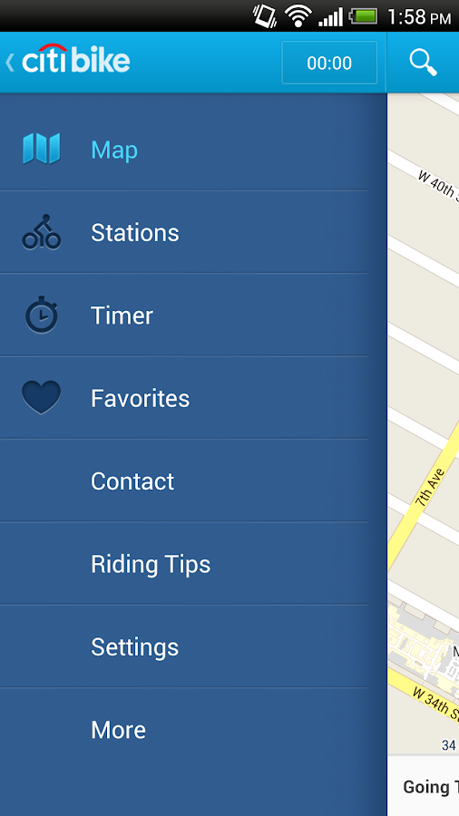Citi Bike NYC - screenshot