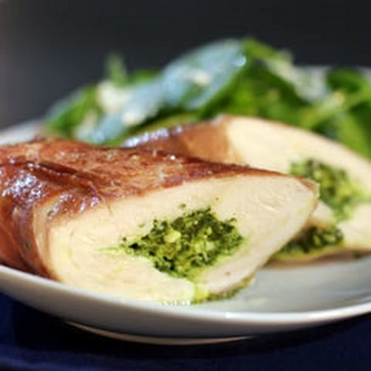 Cheese & Spinach Stuffed Chicken Breasts
