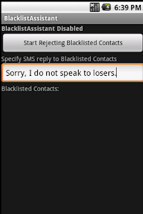 Call Blocker - screenshot thumbnail