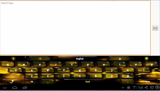 黑色黃色鍵盤