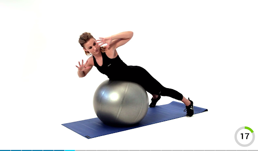 Virtual Trainer Gym Ball- screenshot thumbnail