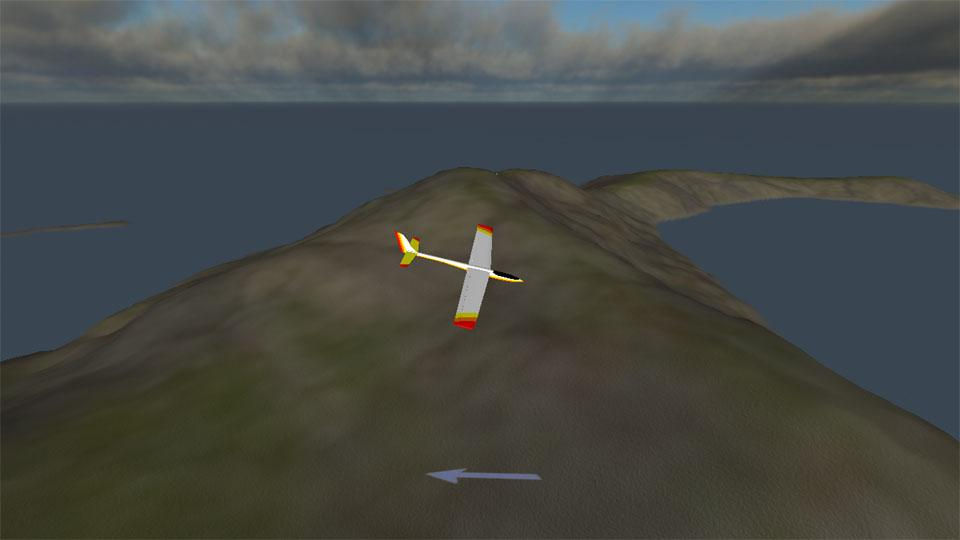 PicaSim: Flight simulator - screenshot