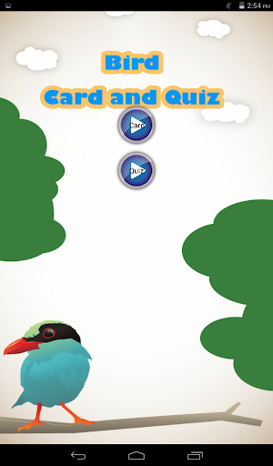 Bird Card and Quiz