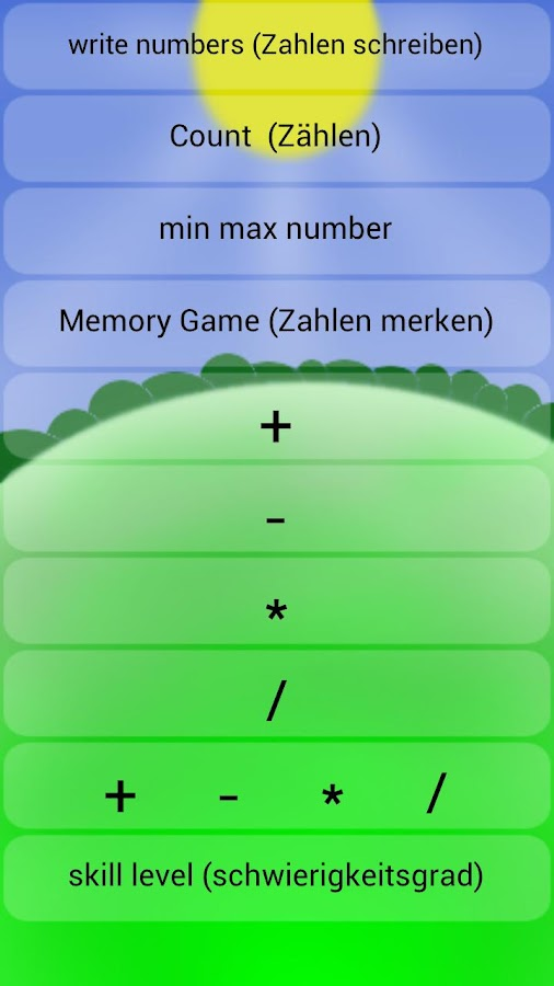 numbers and math for kids- screenshot