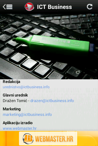 ICT Business- screenshot