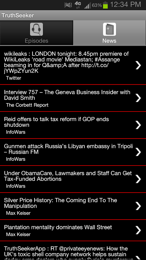 Truthseeker - screenshot