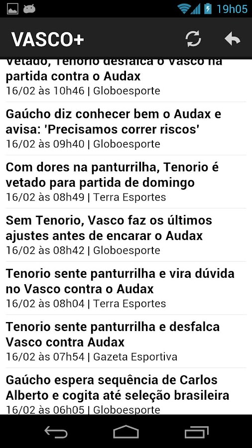 Vasco Mais - screenshot