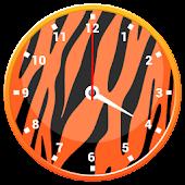 Tiger Clock Widget