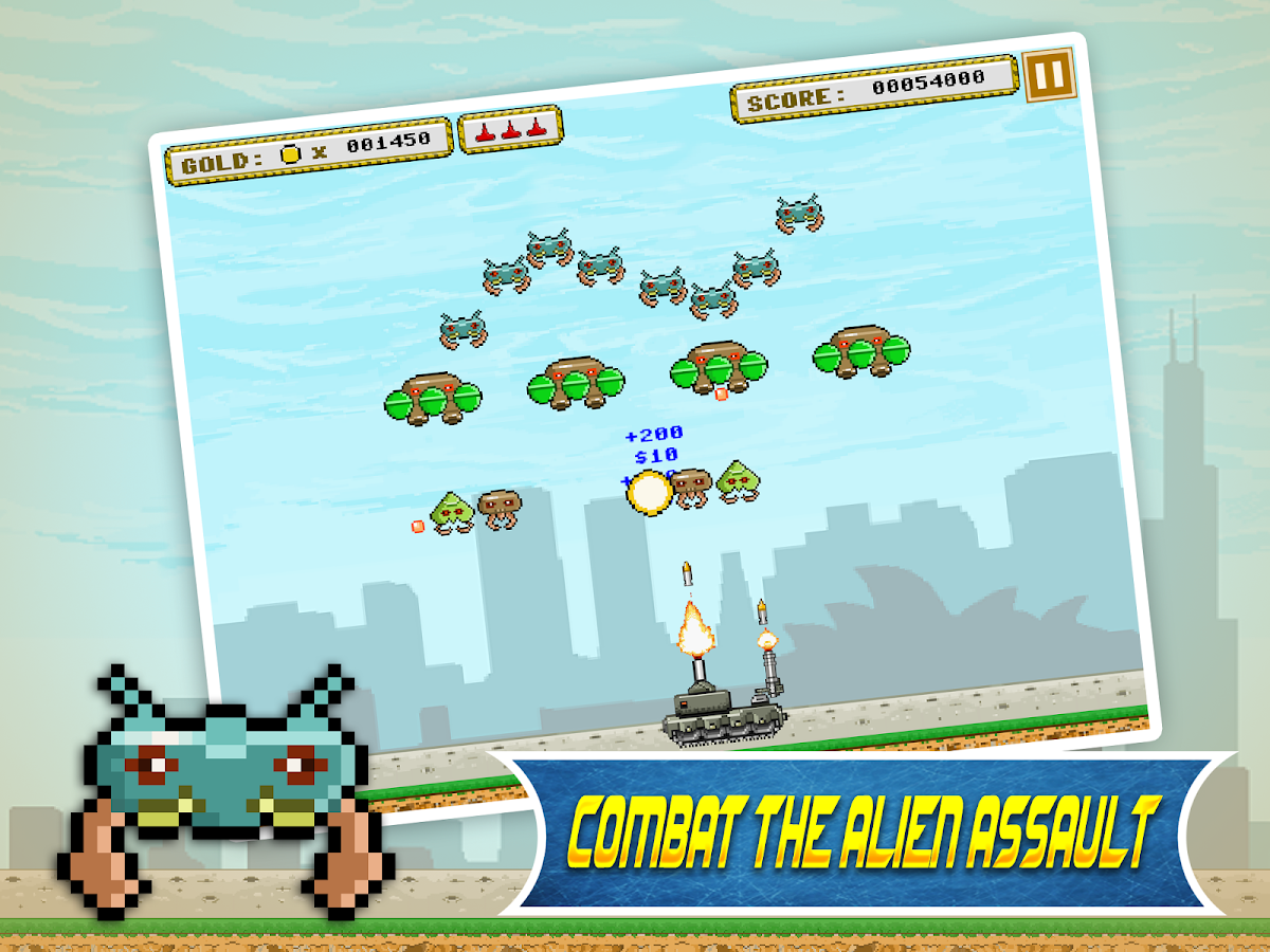 Earth Assault- screenshot