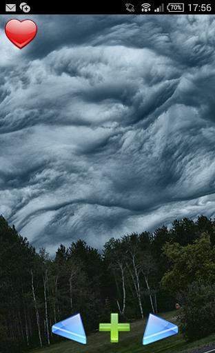 可怕的雲。