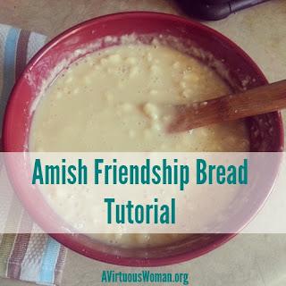 Amish Friendship Bread Tutorial.