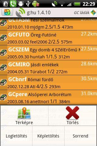 g:hu a GC/GG segédeszköz- screenshot