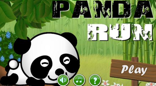 Panda Jungle Run Adventure