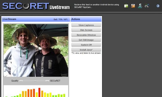 Camera WiFi LiveStream - screenshot thumbnail