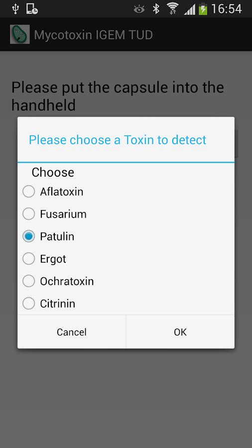MycoDect - screenshot