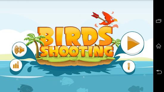 瘋狂的小鳥射擊和獵人