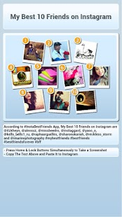 InstaBestFriends for Instagram - screenshot thumbnail