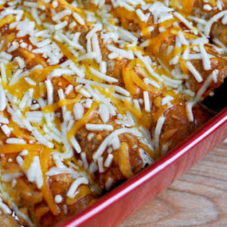 BBQ Chicken Enchiladas.