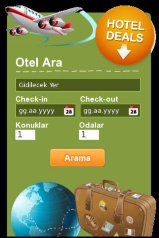 compare hotel rates - screenshot