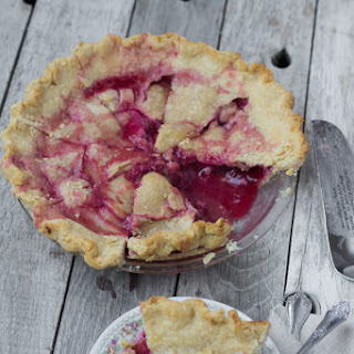 Old Fashioned Raspberry Pie.
