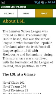 Leinster Senior League- screenshot thumbnail