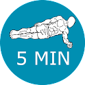 5 MINUTE PLANKS WORKOUT icon