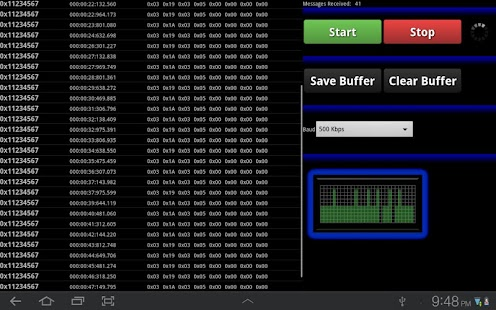 Bluetooth CAN Bus Analyzer- screenshot thumbnail