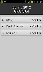 Degree Planner: GPA Calculator- screenshot thumbnail