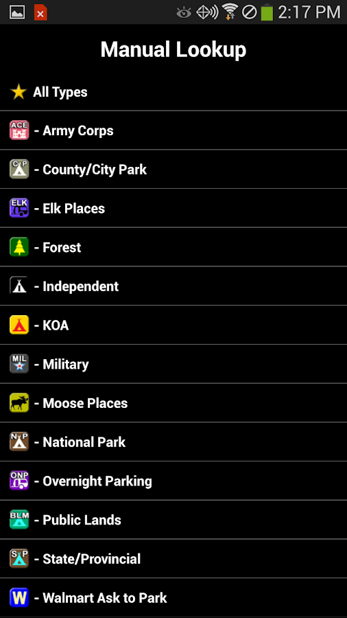 Camp and RV - Campgrounds Plus- screenshot