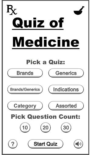 Quiz of Medicine Top Drugs