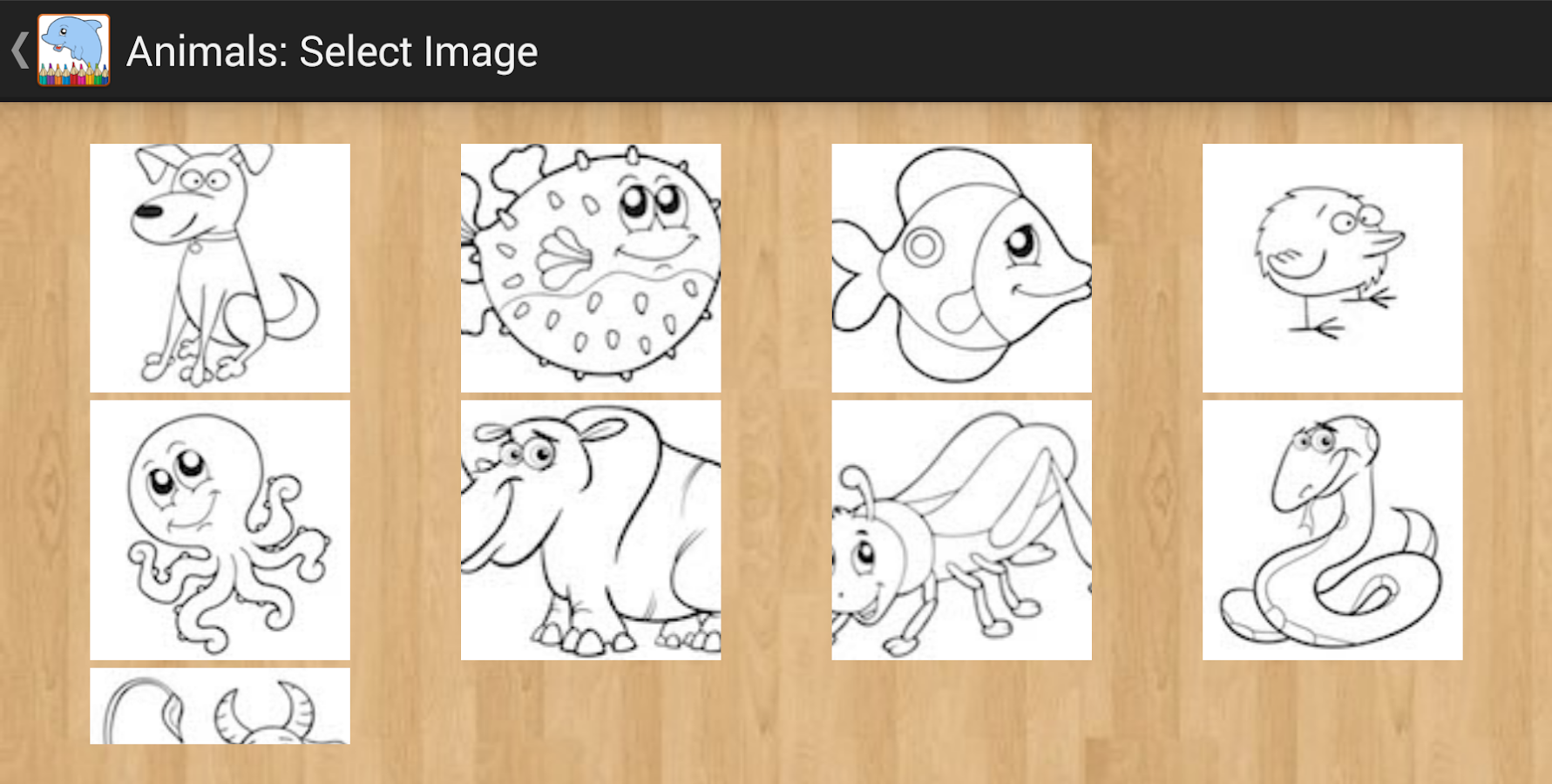 Animal Coloring Pages- screenshot