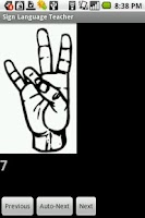 Screenshot of Sign Language Teacher